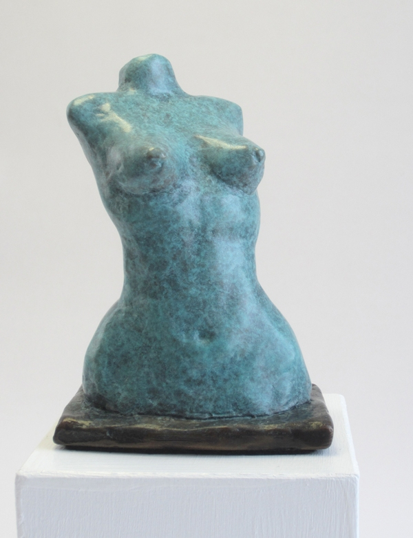 Female Torso in Blue