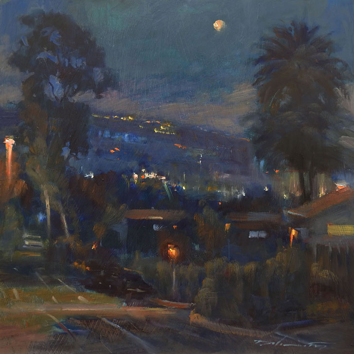 """Moonlight on Monterey Drive"""