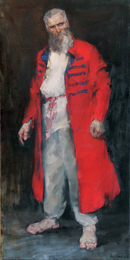 Man in Russian Costume