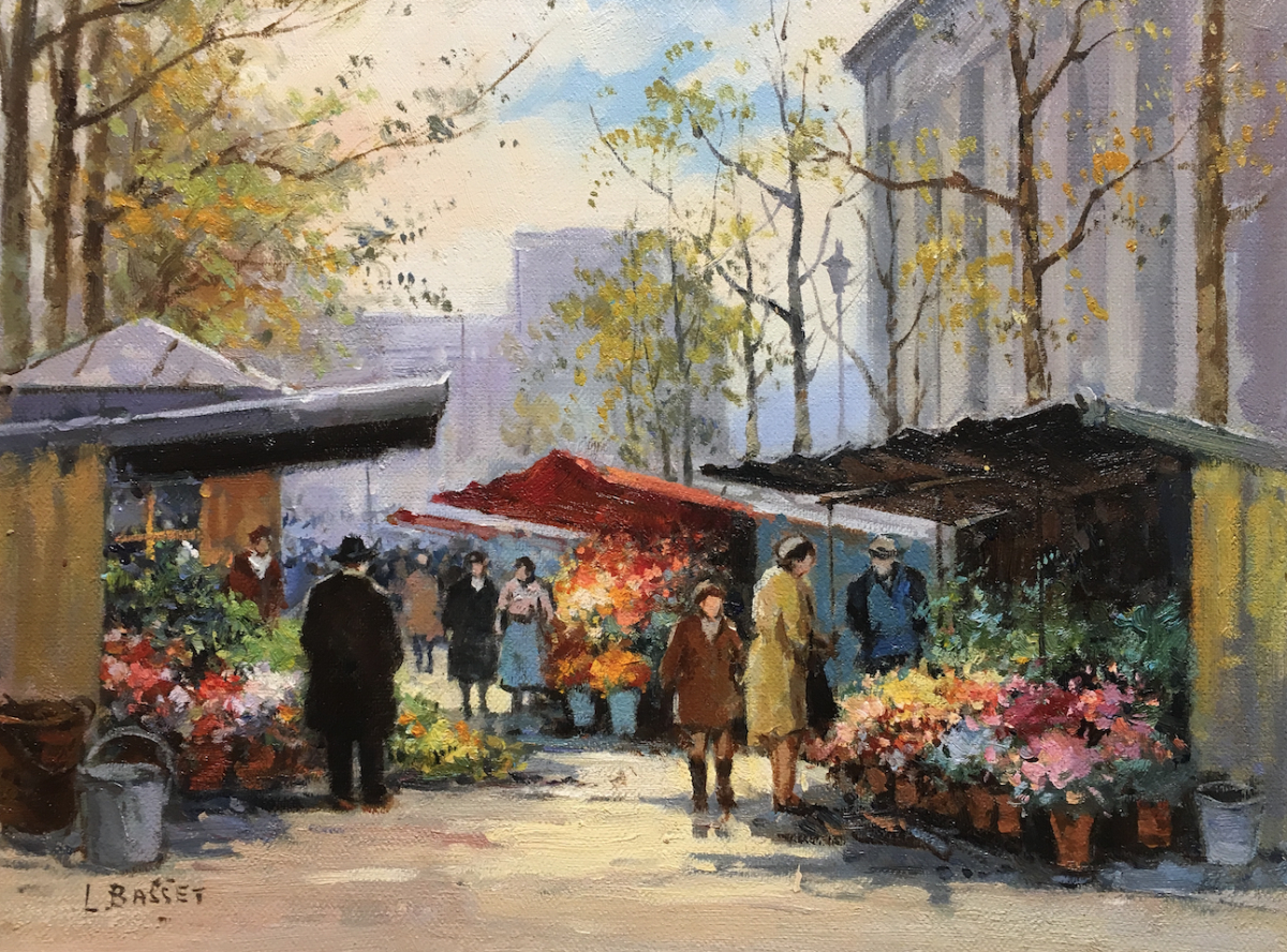 Paris Flower Market I