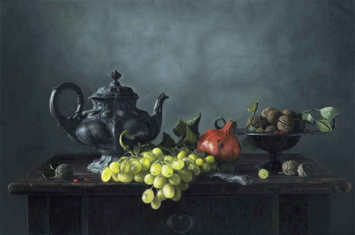 Kettle and Fruit