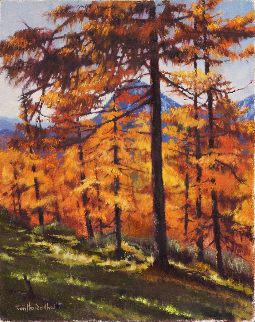 """Lärchengold"" (Golden Larches)"