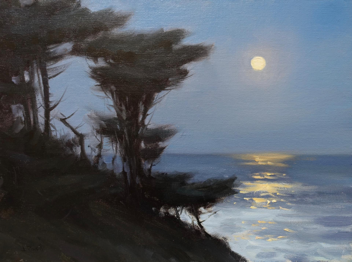 Cypress Moonrise