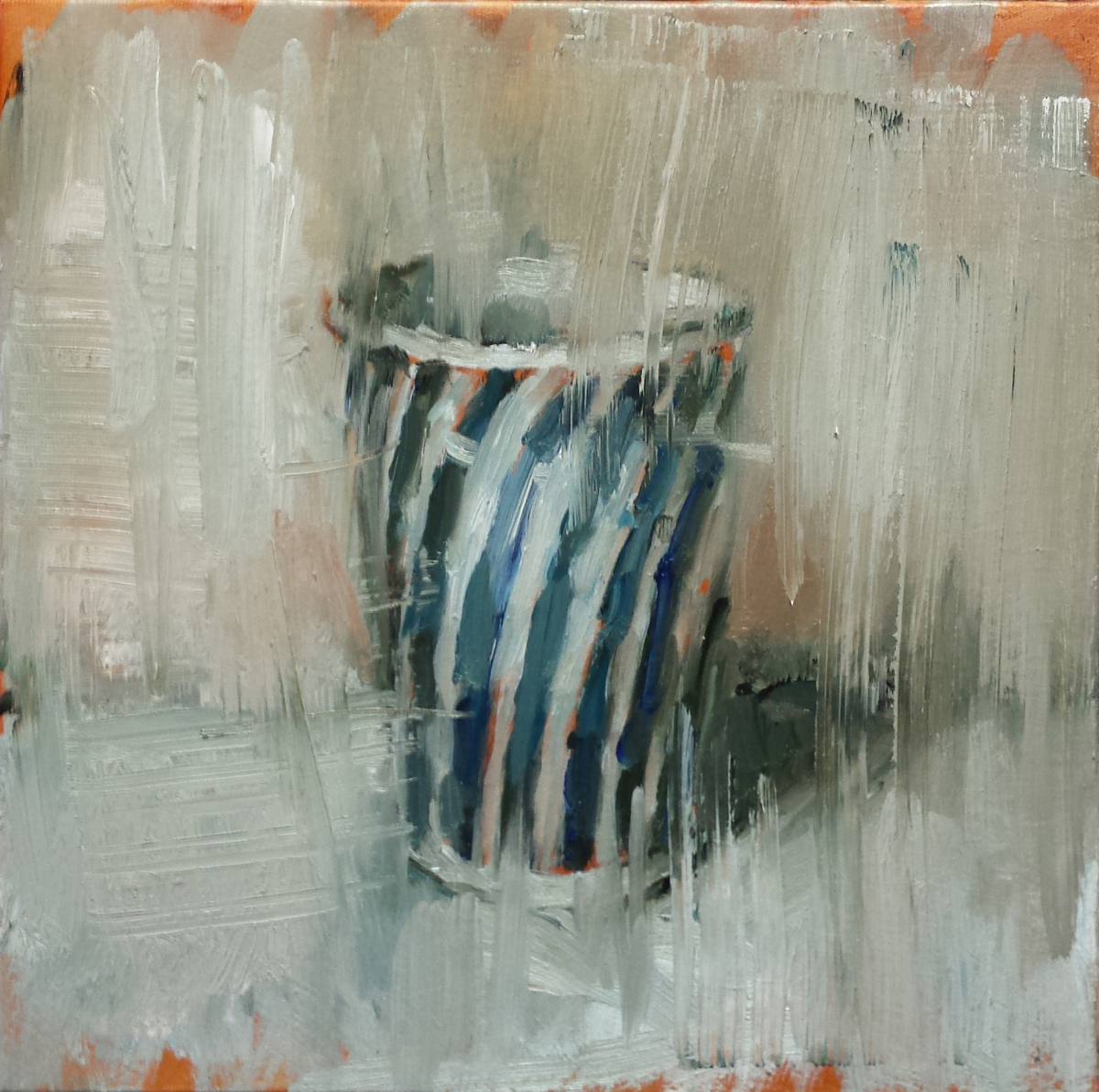 Striped Blue Cup