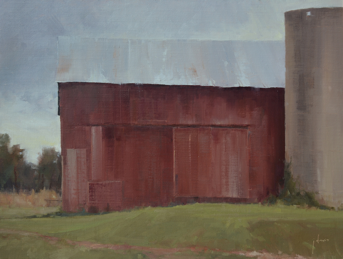 Portrait of a Barn