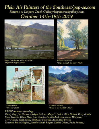 Plein Air Painters of the Southeast