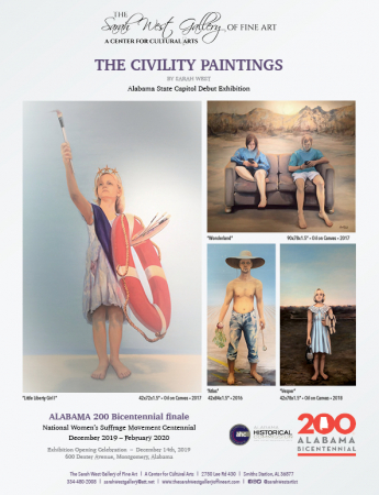 The Civility Paintings | Alabama State Capitol Debut Exhibition