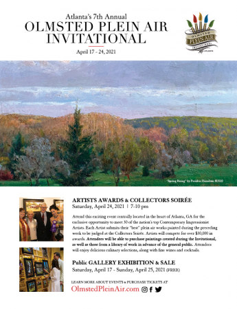 Olmsted Plein Air Invitational